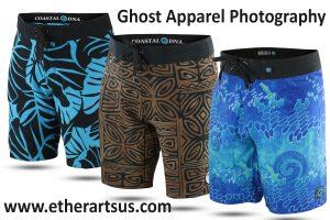Boardshorts - Product Photography