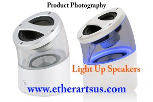White Background Photography - LightUpSpeakers