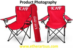 Photographing white products on white background