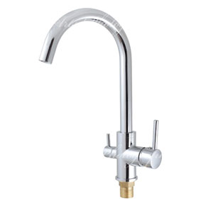 Chrome Kitchen Faucets