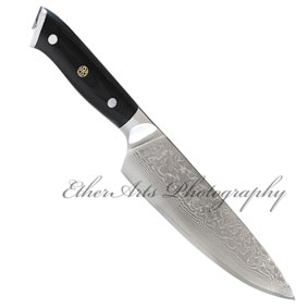 Reflective Knife Photography